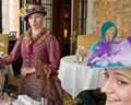 Teatime - Anne Géry Inc. - Château Frontenac - Guided Tours from 1993 to 2011